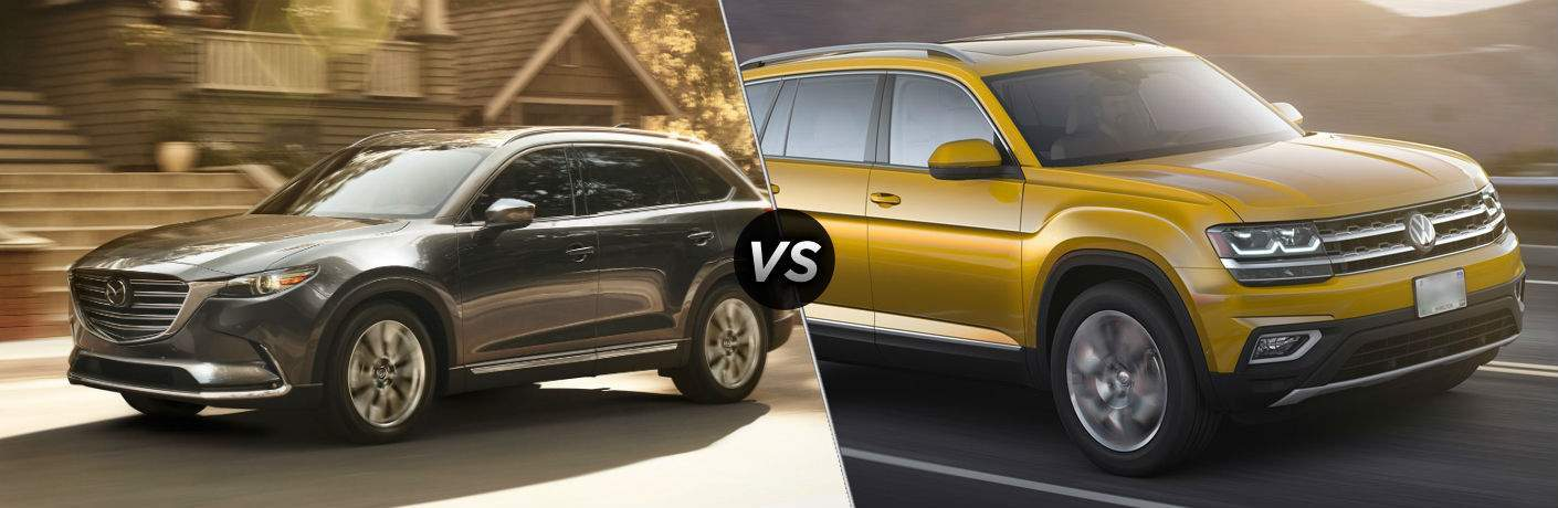 2018 Mazda CX-9 vs 2018 Volkswagen Atlas