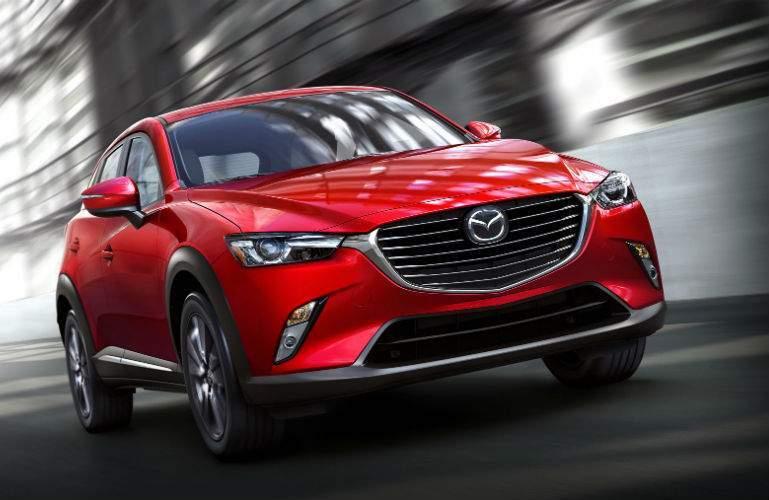 2018 Mazda CX-3 driving