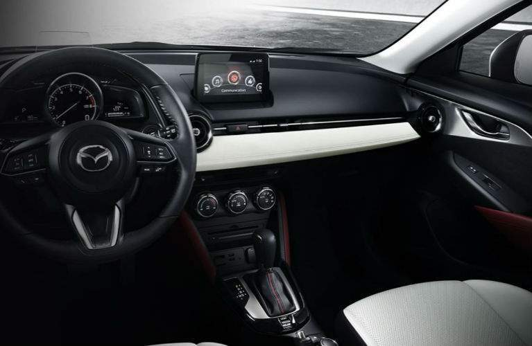 2018 Mazda CX-3 front interior view