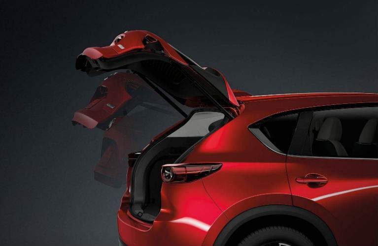 2018 Mazda CX-5 available power liftgate