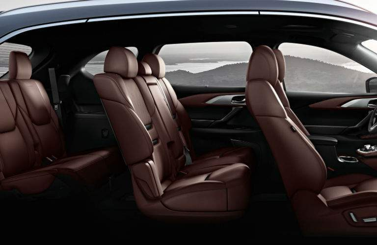 2018 Mazda CX-9 profile image showing the seating