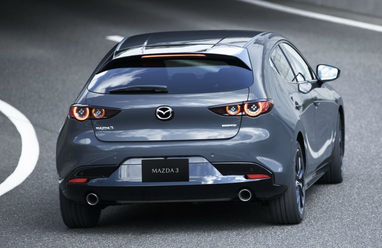 2019 Mazda3 Hatchback rear profile