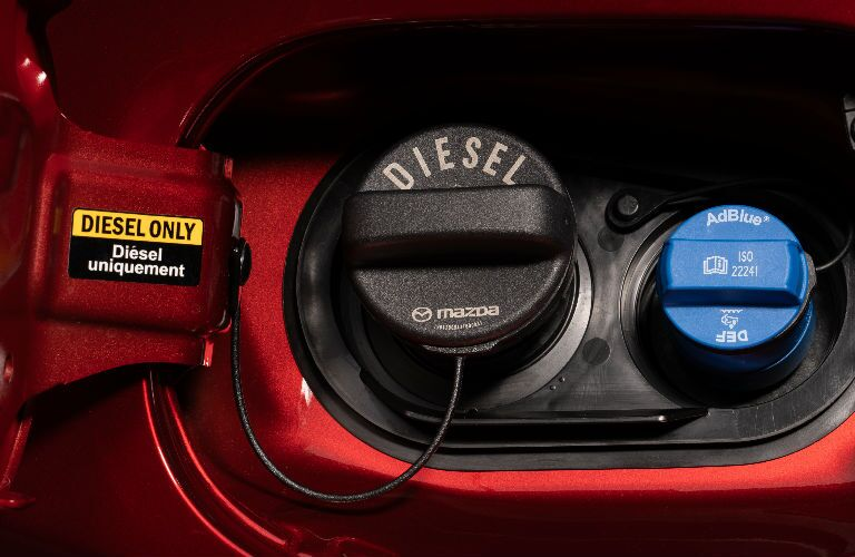 2019 Mazda CX-5 Diesel gas tank