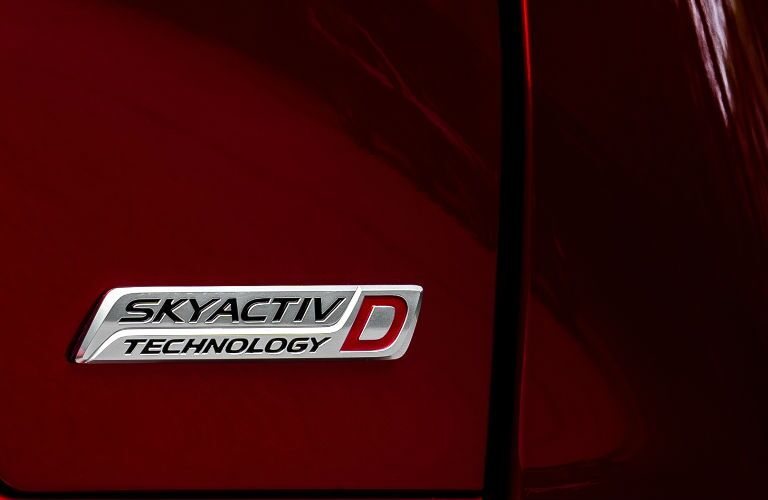 2019 Mazda CX-5 Signature Diesel badge