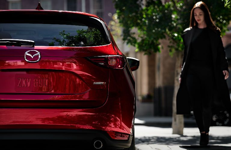 2019 Mazda CX-5 Signature Diesel rear profile