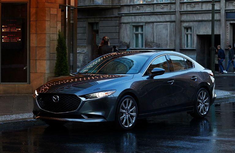 2020 Mazda3 Sedan parked on a street