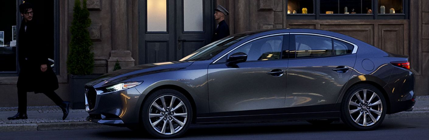 2020 Mazda3 Sedan side profile
