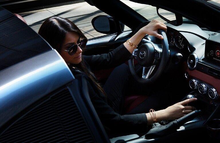 2020 Mazda MX-5 Miata RF interior