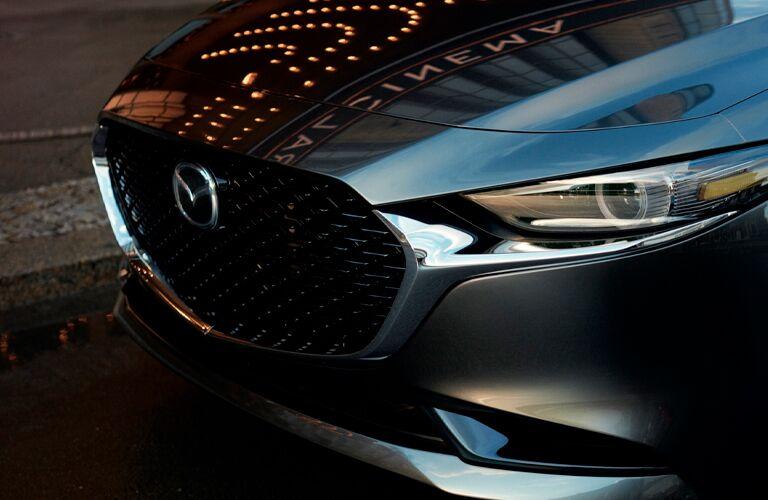 2021 Mazda3 Sedan front grille