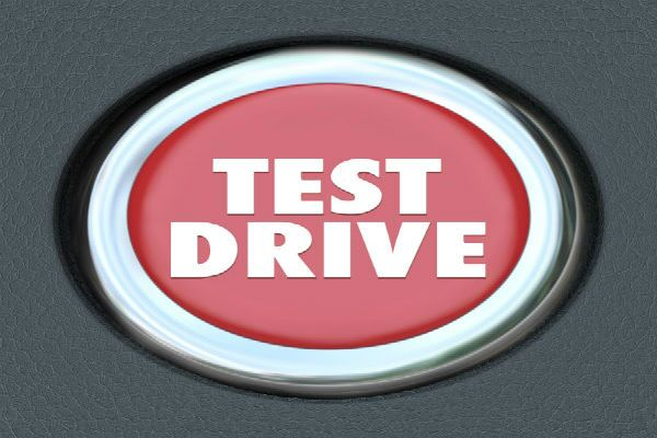 The words test drive