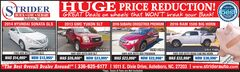 Huge Used Car Price Reduction