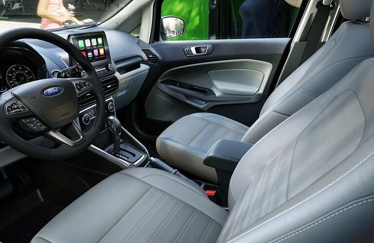 2019 Ford EcoSport front seats