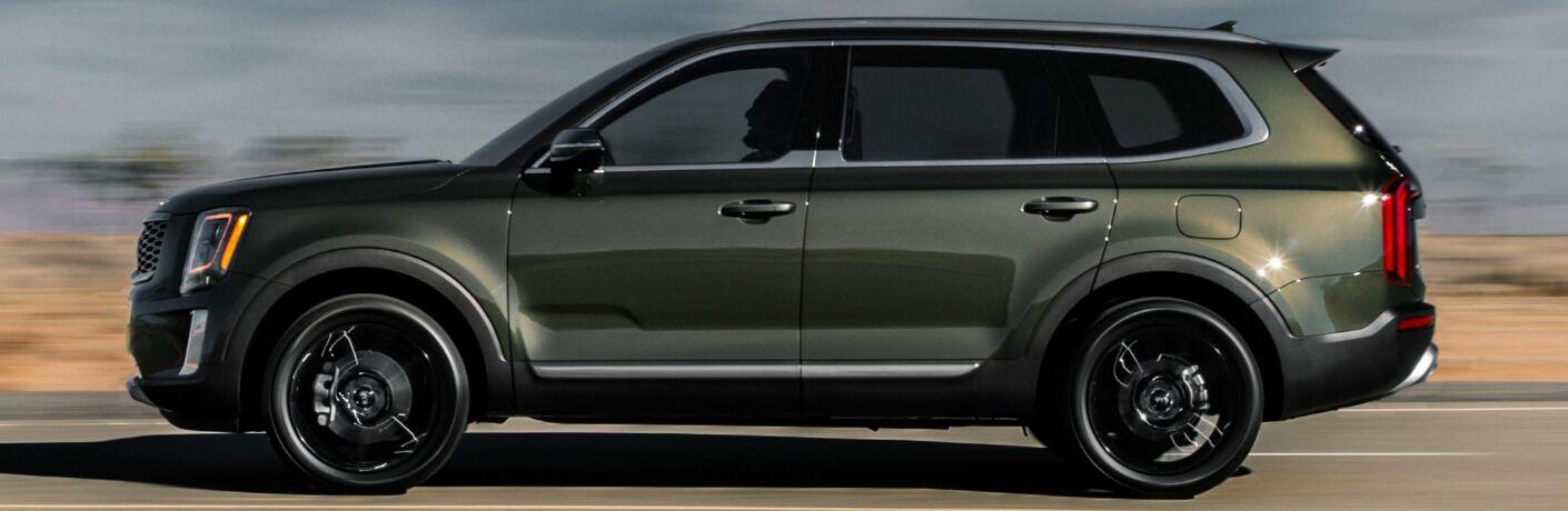 2020 Kia Telluride exterior driver side