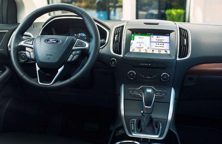 2018 Ford Edge driver console