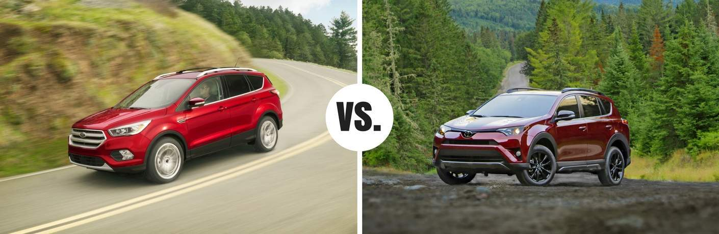 ford escape compared to toyota rav4