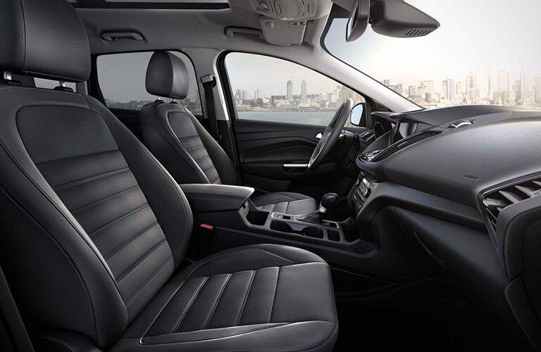2019 Ford Escape side interior shot