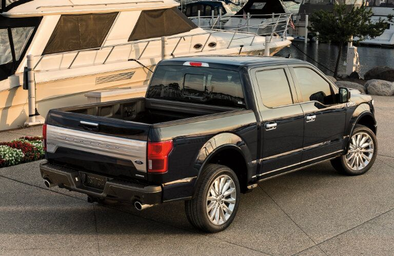 2019 Ford F-150 by the docks