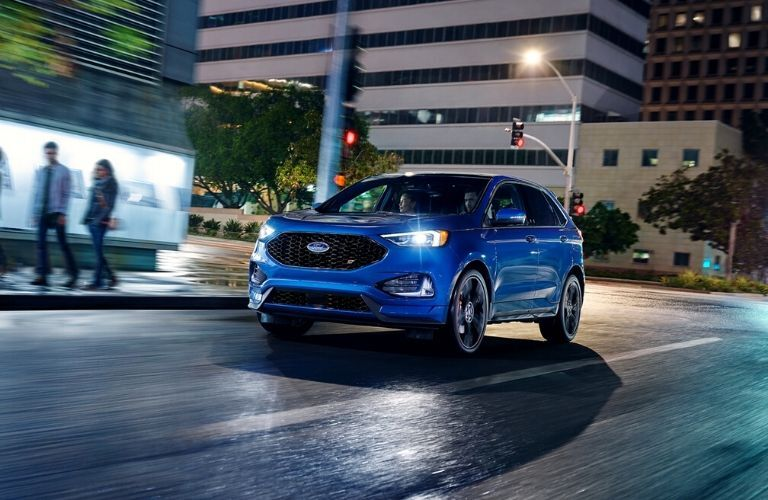 2020 Ford Edge driving on the road