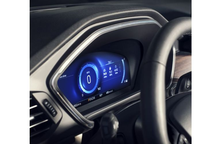2020 Ford Escape instrument cluster
