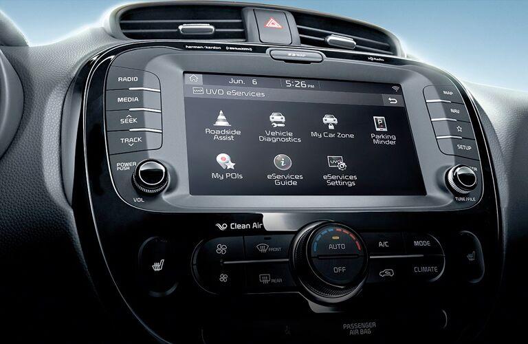 2019 Kia Soul touchscreen display