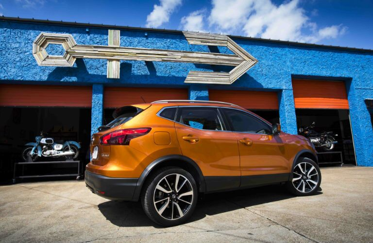 The 2017 Nissan Rogue Sport has a sleeker profile