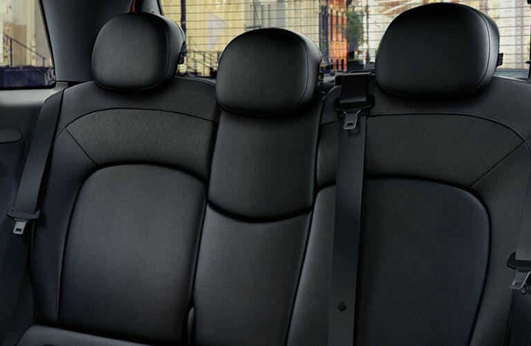 2017 MINI Cooper rear seats