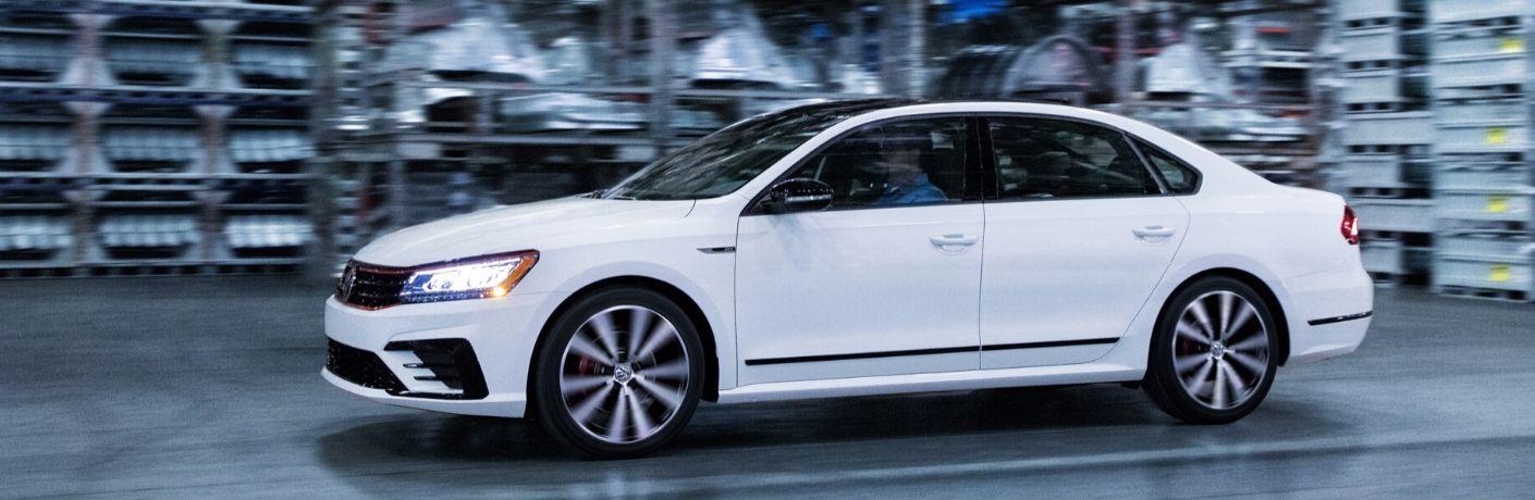 2018 VW Passat GT exterior driver side