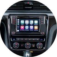 2018 VW Passat GT touchscreen