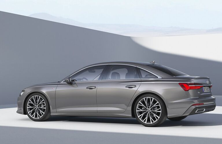 2019 Audi A6 rear and side