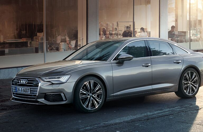 2019 Audi A6 front and side