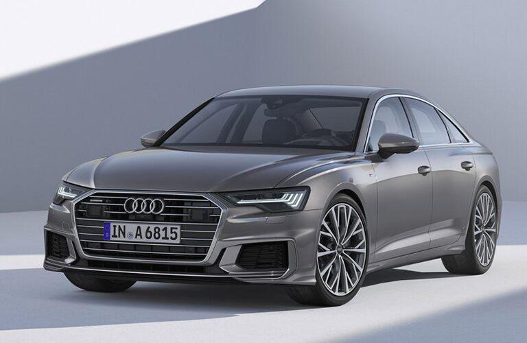 2019 Audi A6 front quarter view
