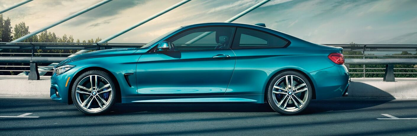 2019 BMW 4 Series exterior driver side