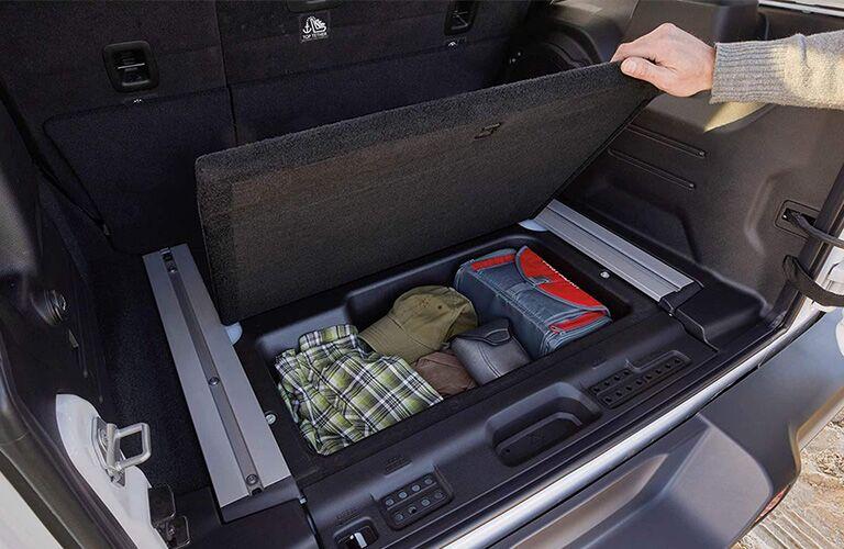 2019 Jeep Wrangler cargo box