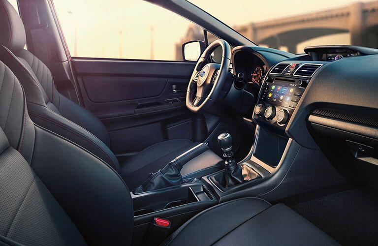 2019 Subaru WRX interior driver cockpit