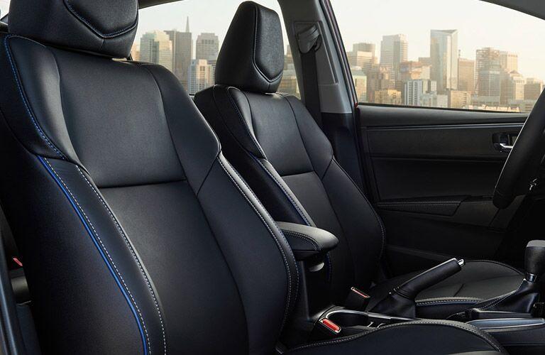 2019 Toyota Corolla interior front seats