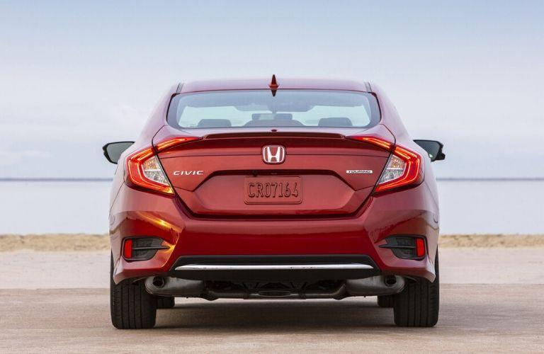 2019 Honda Civic exterior rear