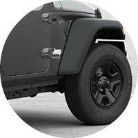 2019 Jeep Wrangler front wheel