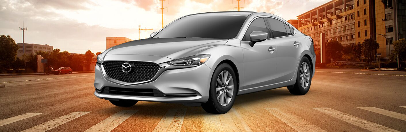 2019 Mazda6 parked on road