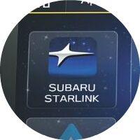 2019 Subaru WRX technology screen closeup with Subaru Starlink shown