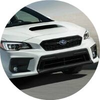 2019 Subaru WRX front fascia closeup