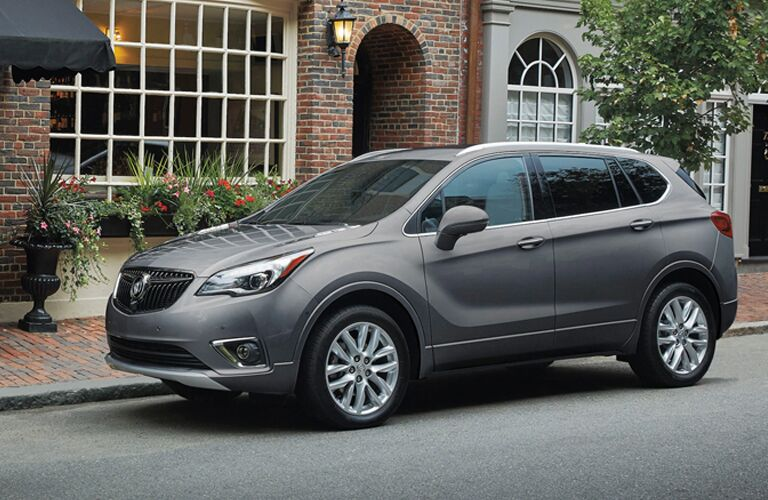 2020 Buick Envision parked