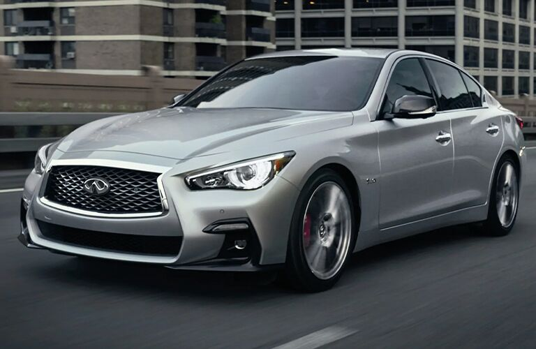 2020 INFINITI Q50 exterior front side