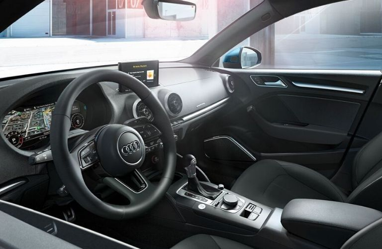 2020 Audi A3 steering wheel
