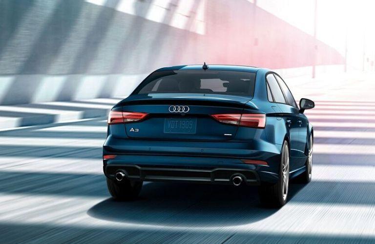 2020 Audi A3 exterior rear