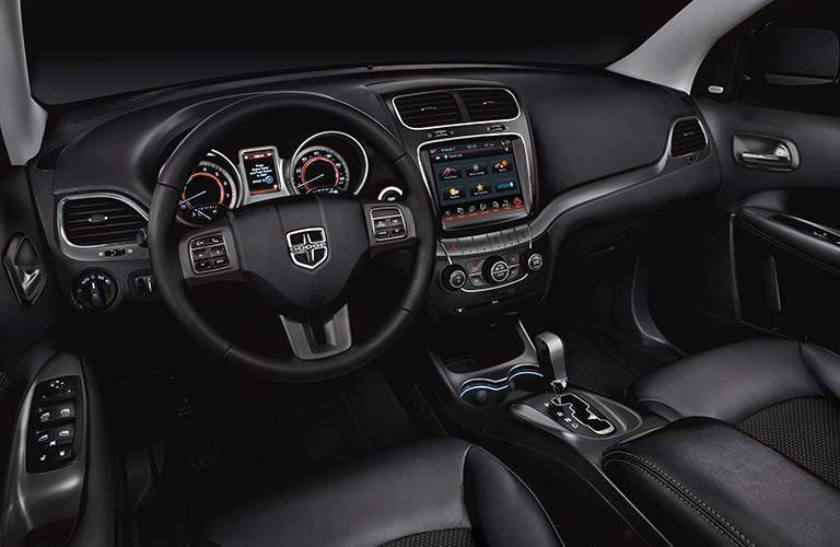 dodge journey black interior