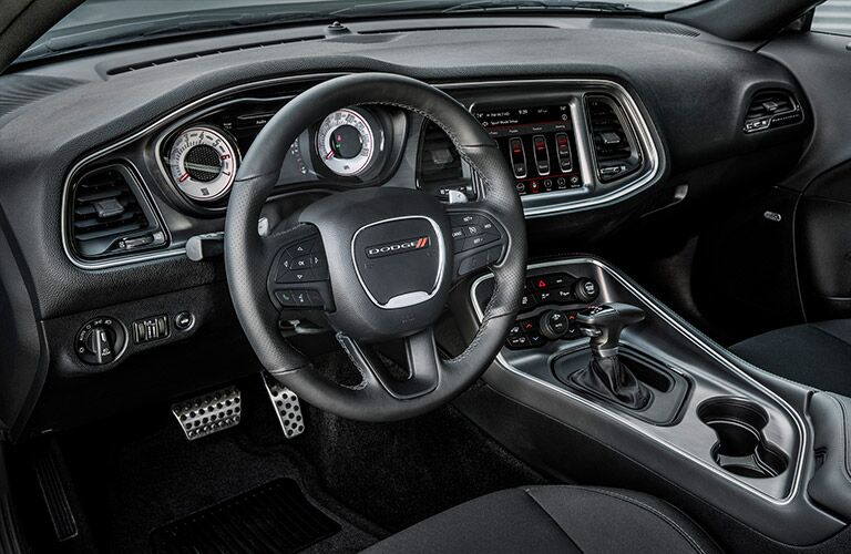 dodge challenger steering wheel, cockpit