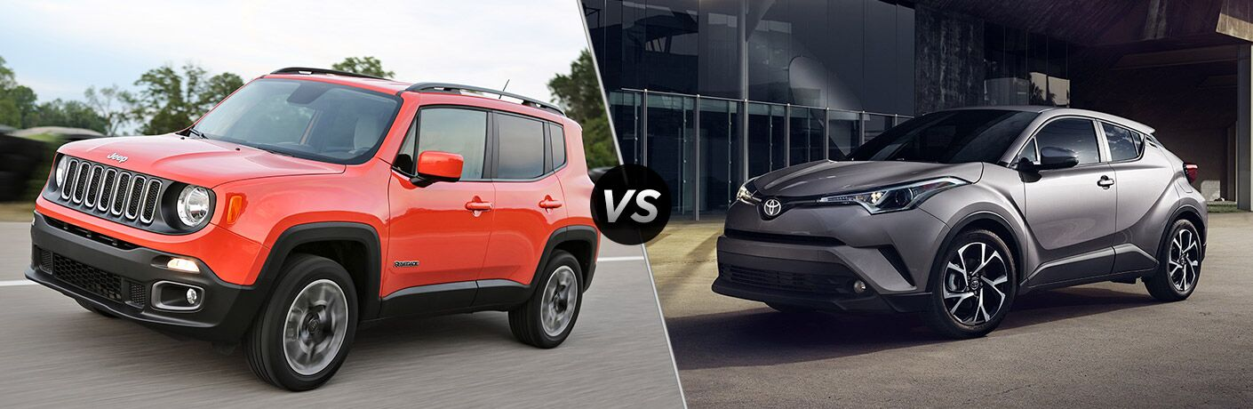 2018 jeep renegade vs 2018 toyota c-hr