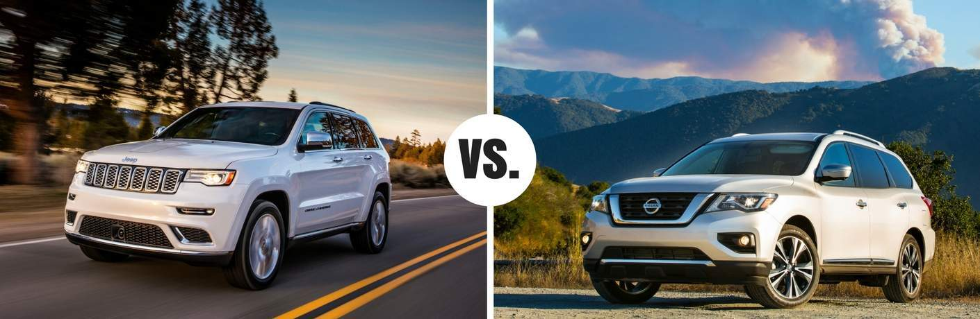 jeep grand cherokee compared to nissan pathfinder