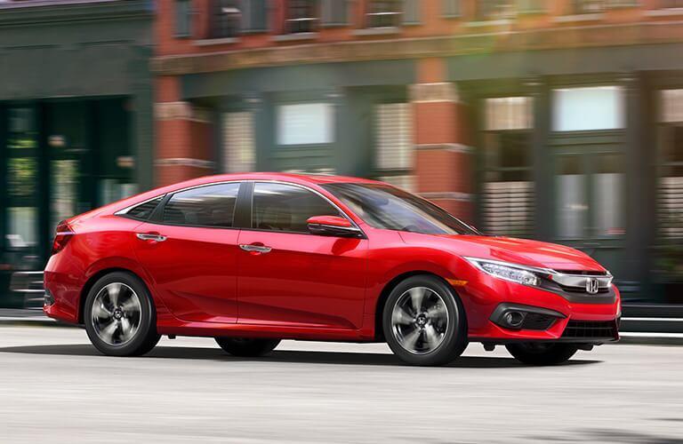 Compare the 2018 Civic Sedan Trim
