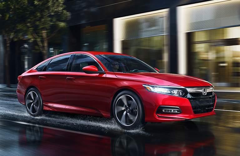 2018 Honda Accord Sedan Trim Comparison